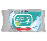 Compact влажные салфетки, антибактериальные, со вкусом лайма, 100шт (30143)