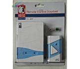 Horoz беспроводной дверной звонок HL457, на батарейках, 38 мелодий, 150м (10846)