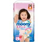 Moony трусики для девочек #4 L, 9-14кг, 44шт (84521)