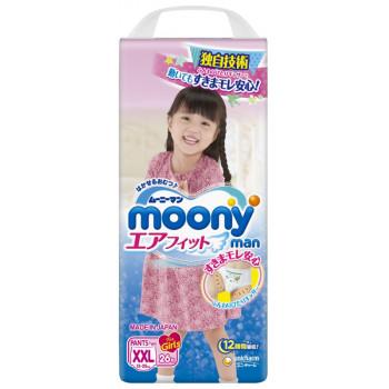 Moony трусики для девочек #6 XXL, 13-25кг, 26шт (74482)