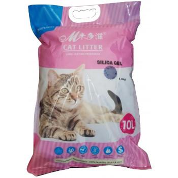MCat силикагелевый наполнитель для кошачьих туалетов, без запаха, 10л (60059)