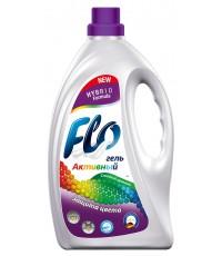 Flo активный гель для стирки, Защита цвета, для цветного белья, 2л (37740)