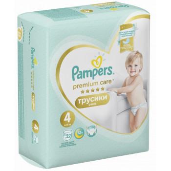 Pampers Premium сare трусики #4, 9-15кг, 22шт (81212)