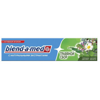 Blend-a-Med Bio зубная паста, травяной сбор, 100мл (26527)