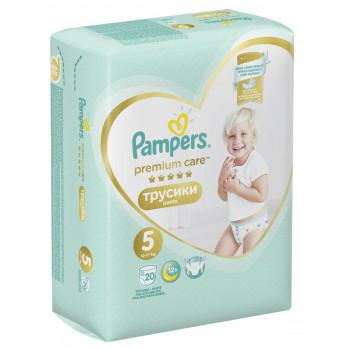Pampers Premium сare трусики #5, 12-17кг, 20шт (81243)