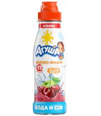 Агуша вода и сок, Яблоко-вишня, с 12 месяцев, 300мл (33322)