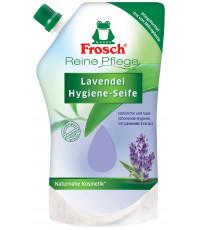 Frosch жидкое мыло для рук, запаска, Лаванда, 500мл (42051)