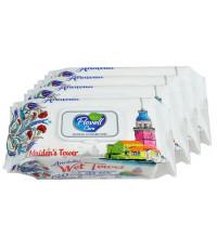 Flovell влажные салфетки, Anatolia, выгодный набор 4 упаковки, 480шт (90082)