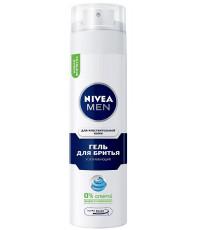 Nivea Men гель для бритья, успокаивающий, для чувствительной кожи, 200мл (88879)