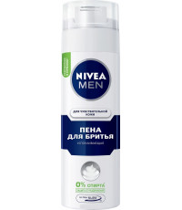Nivea Men пена для бритья, успокаивающая, для чувствительной кожи, 200мл (88824)