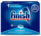 Finish таблетки для посудомоечных машин, Classic, 28шт (91097)