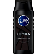 Nivea Men шампунь-уход для мужчин, Ultra, 250мл (92333)