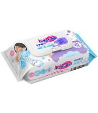 Manuoki детские влажные салфетки, 80шт (09077)