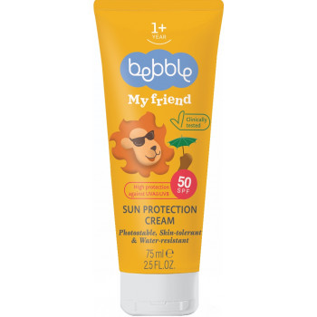 Bebble крем солнцезащитный SPF 50, от 1 года, 75мл (06820)