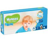 Huggies ultra comfort гига #4+ подгузники 10-16 кг, для мальчиков, 68шт (43796)