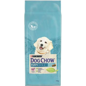 Dog Chow Puppy сухой корм для щенков до 1 года, с ягненком, 14кг (45259+)