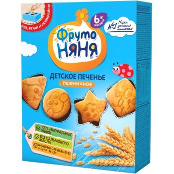 Фруто Няня детское печенье, пшеничное, с 6 месяцев, 150гр (08769)