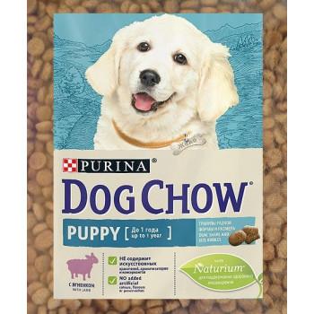 Dog Chow Puppy сухой корм для щенков до 1 года, с ягненком, фасованный, 500гр (45259-)