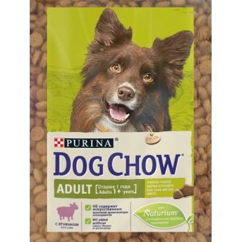 Dog Chow Adult сухой корм для взрослых собак старше 1 года, с ягненком, фасованный,500гр (44825-)