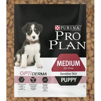 Pro Plan Puppy сухой кор-м для щенков средних пород c чувствительной кожей до 1 года, с лососем, фасованный, 500гр (20389-)