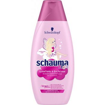 Schauma Kids детский шампунь и бальзам для волос, 380мл (91162)