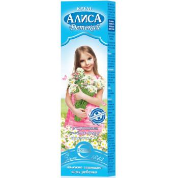 Алиса детский крем, целебные травы, 40гр (81628)