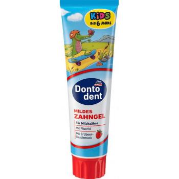 Dontodent Kids зубная паста, клубничный вкус, до 6 лет, 100мл (62933)