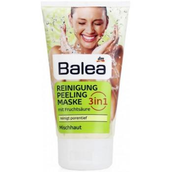 Balea гель для умывания 3в1, очищение, пилинг, маска, 150мл (36135)
