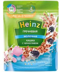 Heinz гречневая молочная каша, с черносливом, с 4 месяцев, 200гр (05136)
