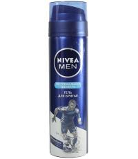 Nivea Men гель для бритья, экстремальная свежесть, 200мл (22865)
