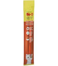 Me-O кремовое лакомство для кошек, с мясом краба, 1шт, 15гр (12790)