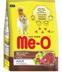Me-O сухой корм для взрослых кошек, говядина и овощи, 450гр (03181)