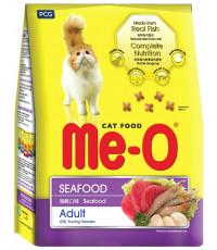 Me-O сухой корм для взрослых кошек, морепродукты, 200гр (01039)