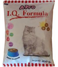 I.Q. Formula сухой корм для взрослых кошек, со вкусом говядины, 400гр (04706)