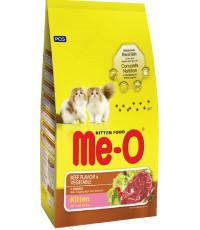 Me-O сухой корм для котят, говядина и овощи, 400гр (03013)
