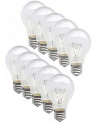 Лампочки 100 ватт, выгодный набор, 10шт (01037+)