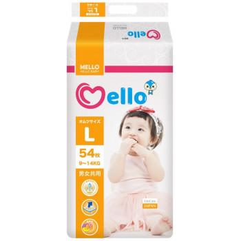 Mello подгузники #4 L, 9-14 кг, 54шт (32745)