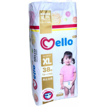 Mello трусики #5 ХL, 12-17 кг, 38шт (32776)