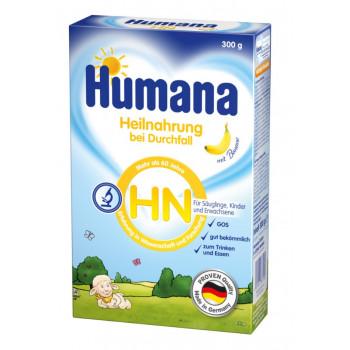 Humana HN Durchfall низколактозная сухая смесь при диарее, с бананом, с рождения, 300гр (87170)