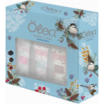 Olea Hand Care набор кремов для рук, inspired by Scandinavia, 3шт (03798)