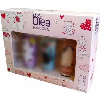 Olea Hand Care набор кремов для рук, kittens, 3шт (04733)
