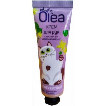 Olea крем для рук комплексный, витамины А,Е и масло ши, 30мл (04627)