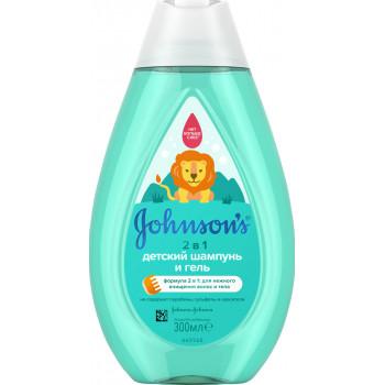 Johnsons baby детский шампунь и гель, 300мл (09549)