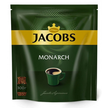 Jacobs Monarch кофе растворимый сублимированный, сашет 300гр (14399)