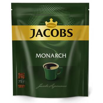 Jacobs Monarch кофе растворимый сублимированный, сашет 75гр (12043)