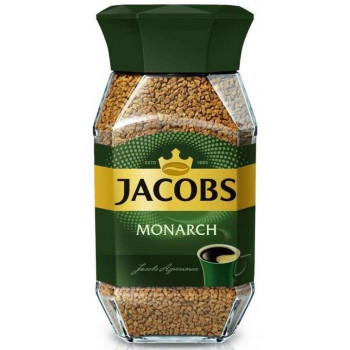 Jacobs Monarch кофе растворимый сублимированный, банка 47гр (24244)