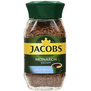 Jacobs Monarch Decaff кофе растворимый сублимированный, банка 95гр (76796)