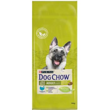 Dog Chow Adult сухой корм для взрослых собак старше 2 лет, индейка, 14кг (89425+)