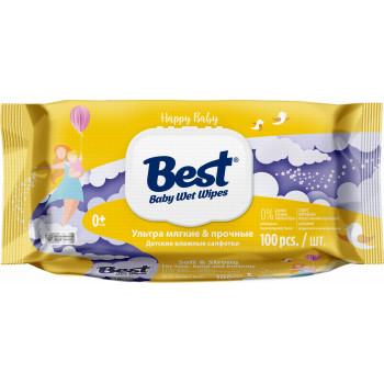 Best Soft&Strong детские влажные салфетки, 100шт (10091)