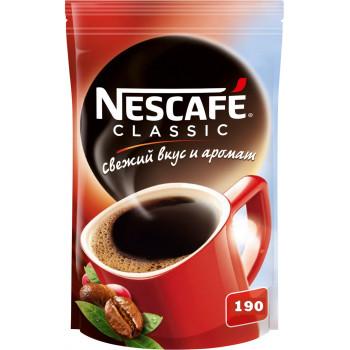 Nescafe Classic кофе растворимый гранулированный, сашет 190гр (07915)
